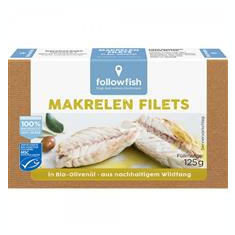 File de Macrou in Ulei de Masline Bio 125gr Followfish Cod: 563883
