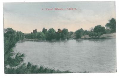4559 - CRAIOVA, Bibescu Park, Romania - old postcard - unused foto
