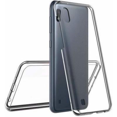 Husa pentru Samsung Galaxy A10, GloMax TPU 360, Transparent foto
