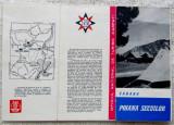 Poiana Secuilor-Predeal.Pliant turistic ONT Carpat.Cabanei din anii '60. Rara.