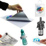 Folie adeziva argintie printabila inkjet, glossy, rezistenta apa, A4, 20 coli, Procart