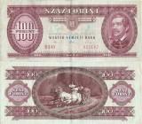 1992 ( 15 I ) , 100 forint ( P-174a ) - Ungaria