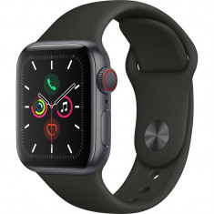 Smartwatch Apple Watch Series 5 GPS Cellular 40mm Space Grey Aluminium Case Black Sport Band S/M & M/L