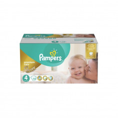 Scutece Premium Care Mega Box 4 Maxi 8-14kg Pampers 104 buc
