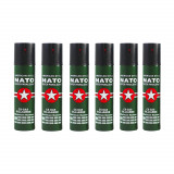 Set 6 sprayuri autoaparare NATO, propulsie jet, 60 ml