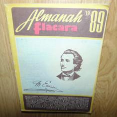 ALMANAH FLACARA ANUL 1989