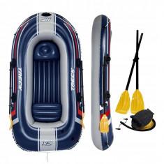 Barca Gonflabila Hydro-Force Treck X2, cu vasle + pompa Bestway, 61068