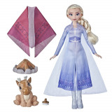 Papusa Disney Frozen 2 Elsa foc de tabara, Hasbro