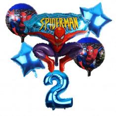 Set 6 baloane folie Spider Man 75 x 82 cm