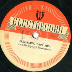 Discuri Ebonita Electrecord Anii ' 40 si '50 Muzica Patefon Gramofon 78rpm
