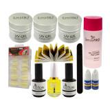Cumpara ieftin Kit Unghii False cu Gel UV ENS PRO Deluxe - Consumabile Promotie #31