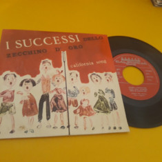 VINIL I SUCCESSI DELLO ZECCHINO D'ORO CALIFORNIA SONG