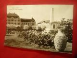 Ilustrata  Baia Mare - Piata Libertatii   ,circulat 1962