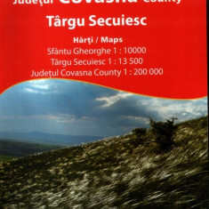 Harta Sf. Gheorghe, Tg. Secuiesc, jud. Covasna