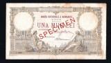 ROMANIA -  1000 Lei 1933 . Specimen . Bancnota  foarte  rara