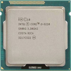 Procesor Intel Ivy Bridge, Quad Core i3 3220 3.30GHz sk 1155, cooler,pasta