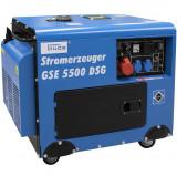 Cumpara ieftin Generator de curent pe benzina GSE 5500 Guede GUDE40586, 5000 W, 10 Cp