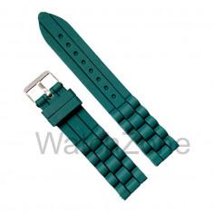 Curea Ceas Silicon Verde 18mm WZ1127