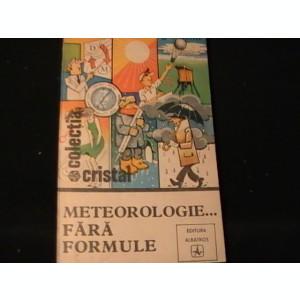 METEOROLOGIE FARA FORMULE-ION STANCESCU-SERGIU BALIFF-302 PG-
