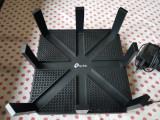 Router wireless TP-LINK Gigabit Talon AD7200 Tri-Band WiFi 5, Port USB, 4, 1
