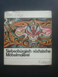 Mobila pictata, mobilier pictat sasesc din Transilvania  -  Theo Zelgy