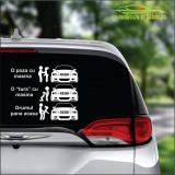 Dacia Sandero Stepway- Stickere Auto -Cod: MOV-120 -Dim :  20 cm. x 16.4 cm.