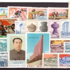 DPR Korea - Lot timbre vechi nestampilate