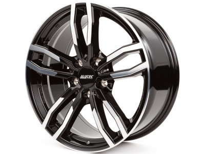 Jante BMW Seria 3 GRAN TURISMO (GT) 8J x 18 Inch 5X120 et34 - Alutec Drive Diamant-schwarz-frontpoliert - pret / buc foto