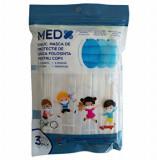 Masca de protectie de unica folosinta pentru copii - set 10 buc
