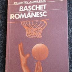 Baschet romanesc