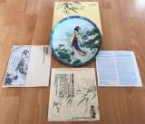 Farfurie - decoartiva / colectie - Imperial Jingdezhen China - 1991 - certificat