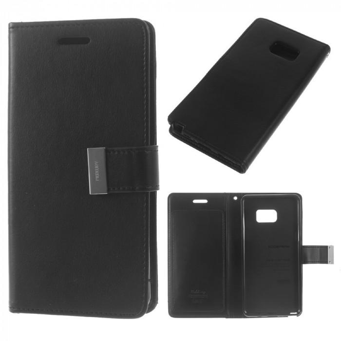 Husa SAMSUNG Galaxy S6 Edge Plus - Rich Diary (Negru)
