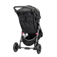 Carucior City Mini GT Black Black Baby Jogger, 112 x 62 x 112 cm, suporta maxim 15 kg, 0 luni+