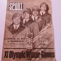 Revista SPORT-nr.2/01.1972 (prezentare UTA-ARAD)