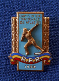 Insigna 1953 - Campionatele inter. de Atletism - Sport