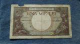 1000 lei 1938 Romania / Regele Carol II