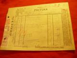 Factura Firmei Zimmer & Comp. SA- Uleiuri vegetale , lacuri ...1943 Bucuresti