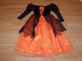 costum carnaval serbare vrajitoare contesa pentru copii de 5-6 ani