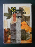CRISTOFOR SIMIONESCU - CHIMIA LEMNULUI DIN ROMANIA