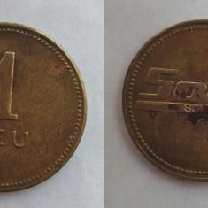 Moneda - Jeton vechi perioada regala 1930 - S.A.R.  SORA  valoare 1 Leu