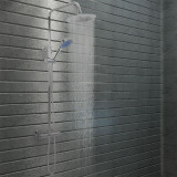 Cumpara ieftin Set de duș cu două capete, cu termostat, oțel inoxidabil