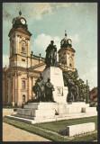 UNGARIA - DEBRECEN - DEBRETIN - MONUMENTUL KOSSUTH - CP CIRCULATA #colectosfera