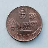 POLONIA  -  10 Złotych 1972  -  Gdynia Seaport