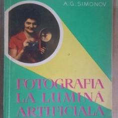 Fotografia la lumina artificiala- A.G.Simonov