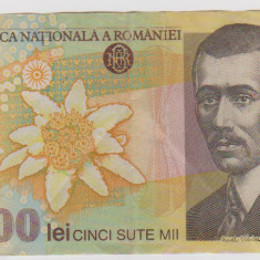 500000 LEI 2000/VF-POLIMER-MAI RARA