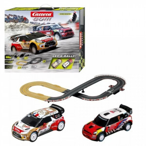 Circuit electric masinute Citroen DS3 si Mini Cooper Countryman Let's Rally Carrera Go 3,6 m