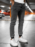 Pantaloni joggers gri Bolf B11103