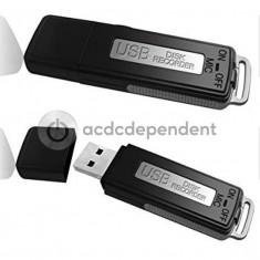 Reportofon ascuns inregistrare voce stick USB drive 4GB