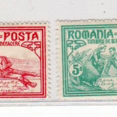 Romania    1906     Mama    ranitilor     serie  nestampilata