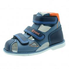 Sandale ortopedice baieti Tom Miki B-1985-E, Multicolor